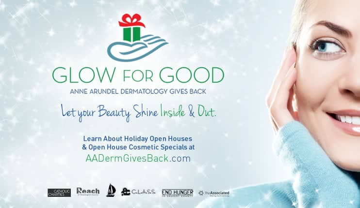 Glow for Good Anne Arundel Dermatology Gives Back