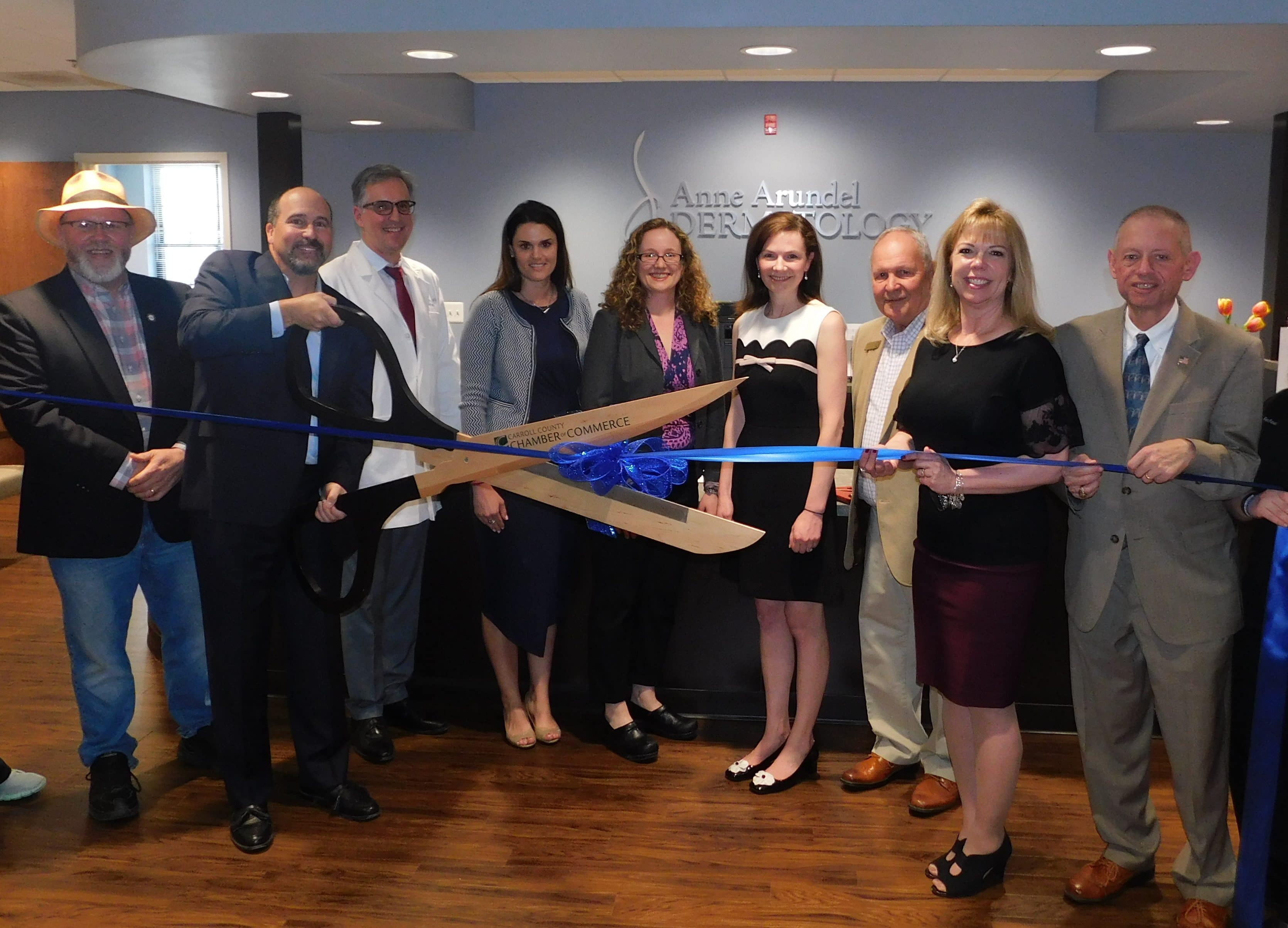 New Westminster Anne Arundel Dermatology Office Ribbon Cutting Ceremony