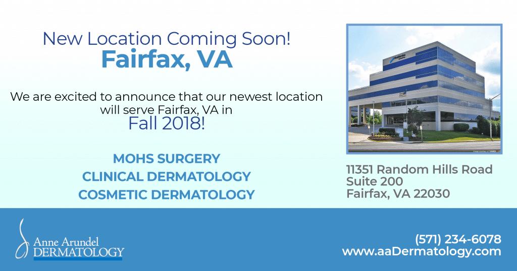 New Fairfax, VA Location, Anne Arundel Dermatology
