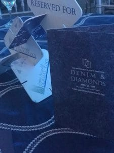 Anne Arundel Dermatology was a sponsor for the Denim and Diamonds Bash